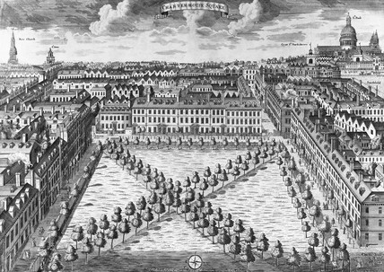 Charterhouse Square: 18th century