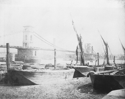 Old Hungerford Bridge: 19th century