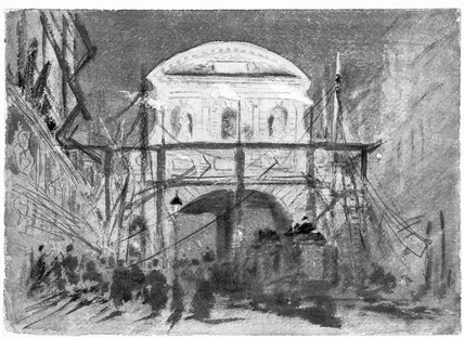 Demolition of Temple Bar: 1878