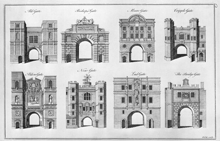 Eight City Gates: 1756