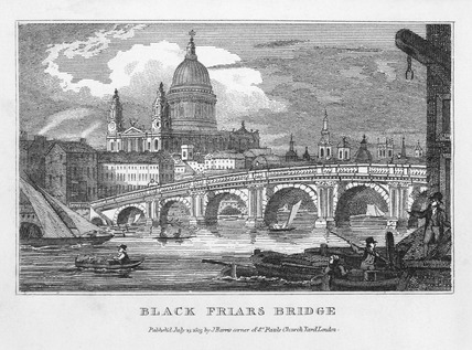Blackfriars Bridge: 1805