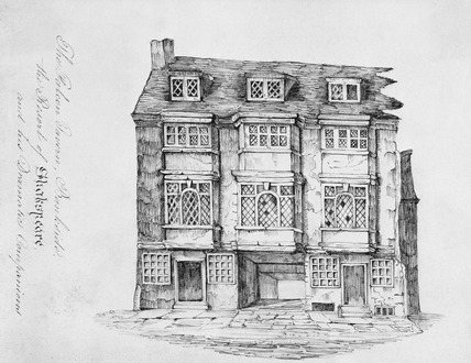 The Falcon Tavern, Bankside: late 18th-early 19th century