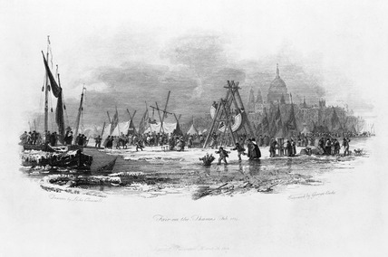 Fair on the Thames: 1814