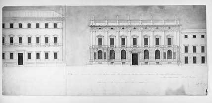 Preliminary design for the Royal Exchange: 19th century