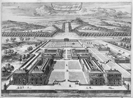 The Hospitall at Greenwich: 1755