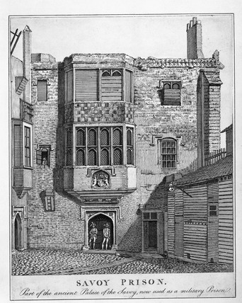 Savoy Prison: late 17th-early 18th century