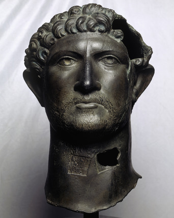 Reproduction statue of Hadrian: 20th century