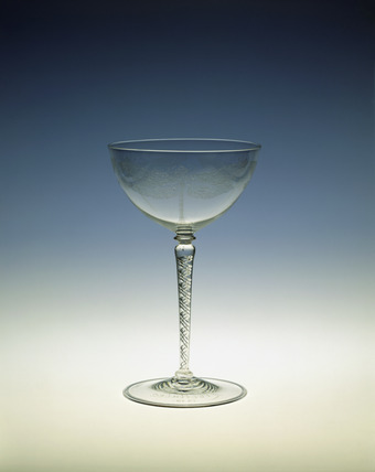 Whitefriars display goblet: 1919