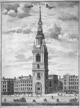 Bow Church: 1754