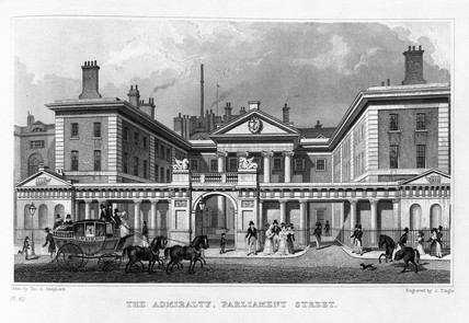 The Admiralty, Parliament Street: 1830