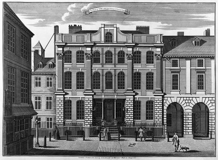 The House of Thomas Archer Esq in Covent Garden: 18th century