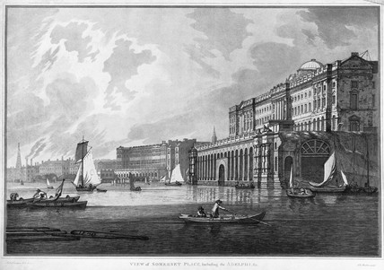 View of Somerset Place, Including the Adelphi, &c.: 1791