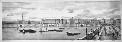 Embankment from Charing Cross to Waterloo Bridge: 19th century