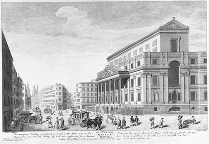 The Mansion House: 1750