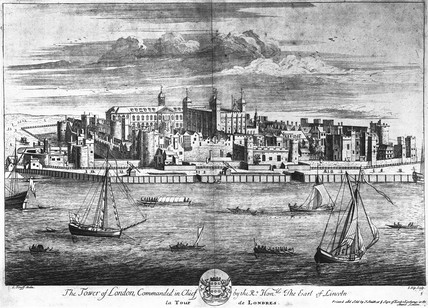 The Tower of London, Commanded in Chief by the Right Honorable The Earl of Lincon:18th century