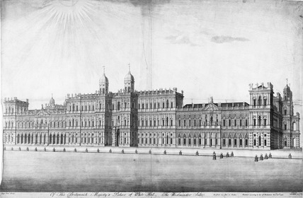 Of His Britannick Majesty's Palace of White Hall the Westminster Side