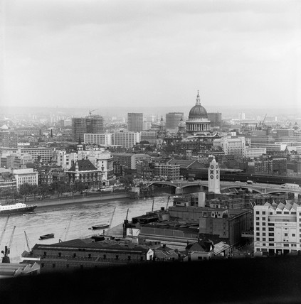 View of the city of London: 1963