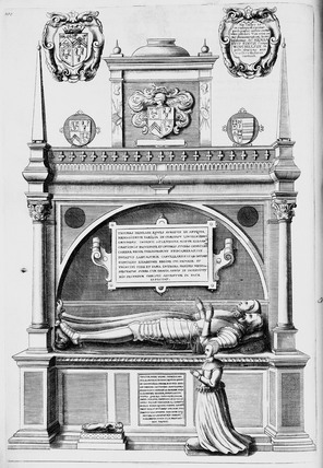 Monument of Sir Thomas Heneage: late 17th - early 18th century