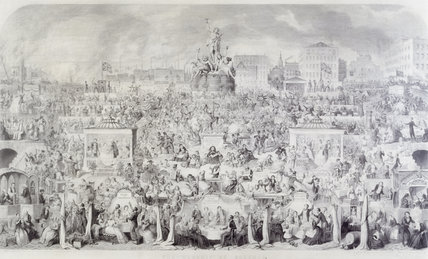 The worship of Bacchus, or, the drinking customs of society: 1864