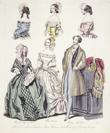 'The Last & Newest London & Paris Fashion': 1843