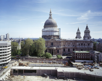 Restoration of St.Paul's Dome: 21st century
