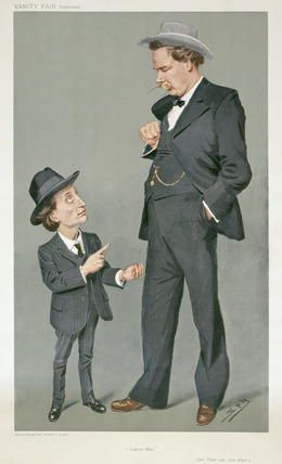 Benjamin Tillett and John Ward: 1908