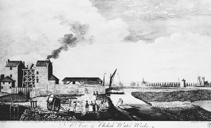 A View of Chelsea Waterworks: 1752