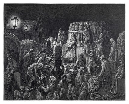 Covent Garden market - early morning: 1872