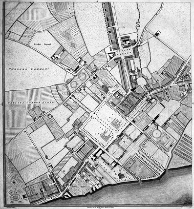 Plan of the Cities of London and Westminster, the Borough of Southwark: 1794