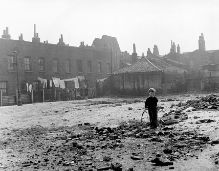Child in the East End: 1951