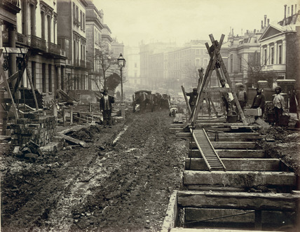 Construction at Craven Hill: 19th century