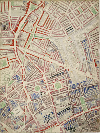 Descriptive Map of London Poverty: Section 16: 1889