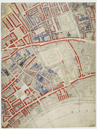 Descriptive Map of London Poverty: Section 25: 1889