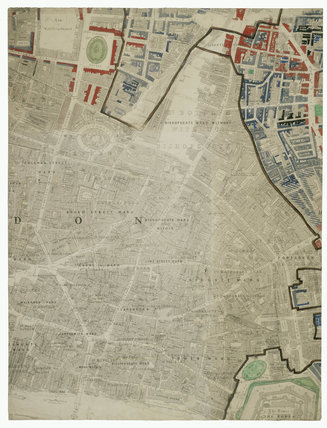 Descriptive map of London Poverty: Section 27: 1889
