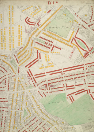 Descriptive map of London Poverty: Section 2: 1889