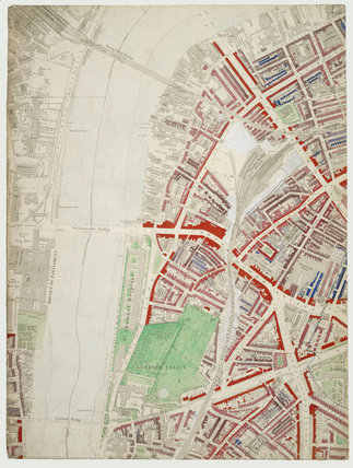 Descriptive map of London Poverty: Section 35: 1889