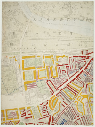 Descriptive map of London Poverty: Section 32: 1889