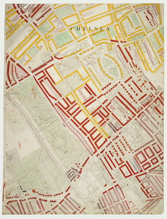 Descriptive map of London Poverty: Section 41: 1889