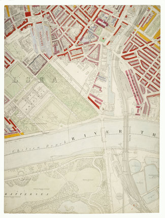 Descriptive map of London Poverty: Section 43: 1889