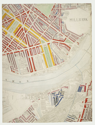 Descriptive map of London Poverty: Section 44: 1889