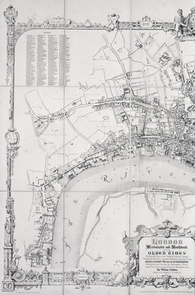London in the olden time: 1855