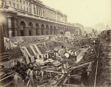 District Line construction: 1869