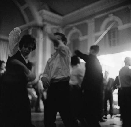 Young couple dancing on 'Trad Tavern', the BBC: 1961