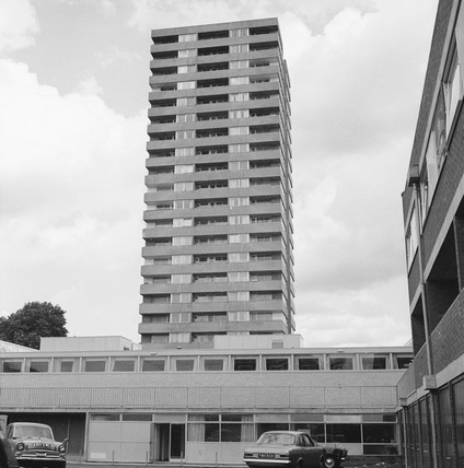 Exterior of Gospel Oak Family Health Clinic. 1971-1972