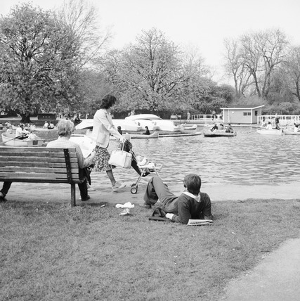 Park with lake: 1980-1983