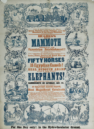 Hughes Royal Mammoth Show: 1847