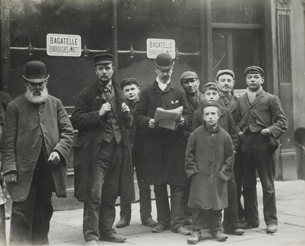 East End Men And Boys C 1900 At Museum Of London