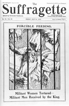 Forcible Feeding: 1914