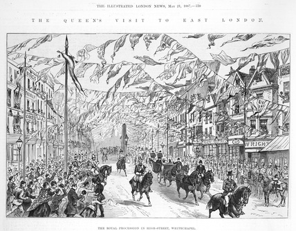 The Queen's Visit to East London: 1887
