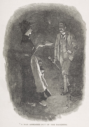 A man appeared out of the darkness: 19th Century